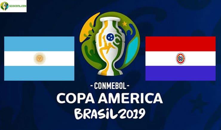 Soi kèo tỷ số bóng đá Copa America trận Argentina vs Paraguay