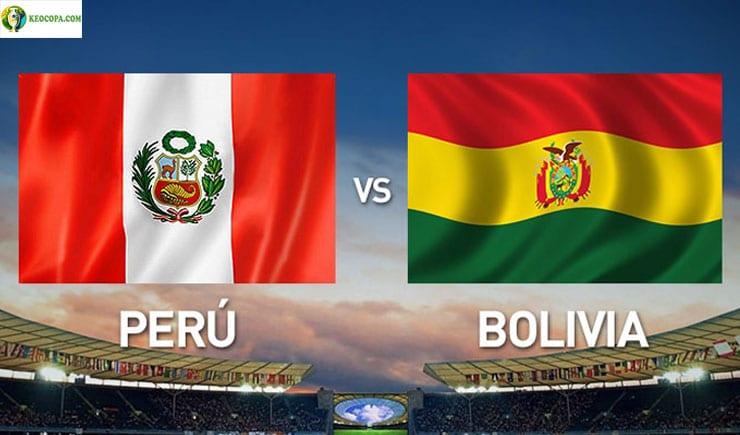 Soi kèo tỷ số bóng đá Copa America trận Bolivia vs Peru