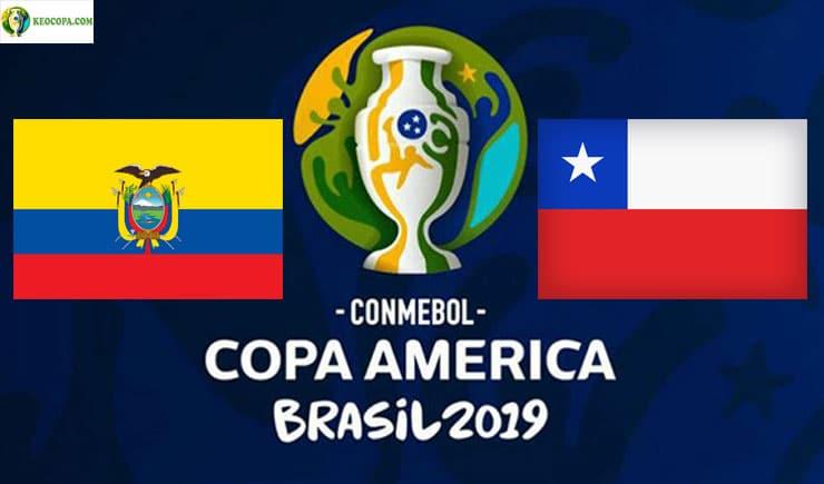 Soi kèo tỷ số bóng đá Copa America trận Ecuador vs Chile