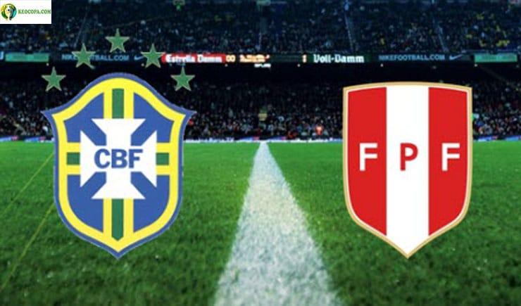 Soi kèo tỷ số bóng đá Copa America trận Peru vs Brazil