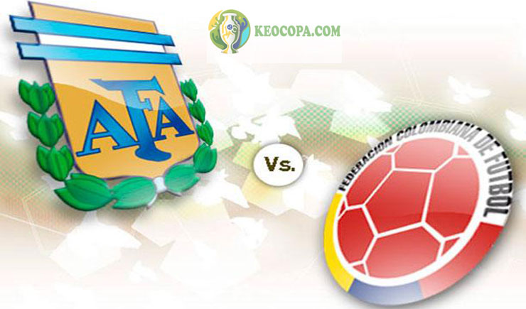 Soi kèo tỷ số nhà cái trận Argentina vs Colombia