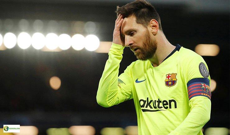 Lionel Messi không thành công khi ở tuyển Argentina