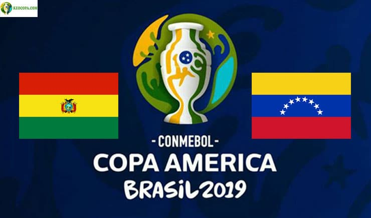 Soi kèo tỷ số bóng đá Copa America trận Bolivia vs Venezuela