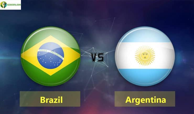 Soi kèo tỷ số bóng đá Copa America trận Brazil vs Argentina