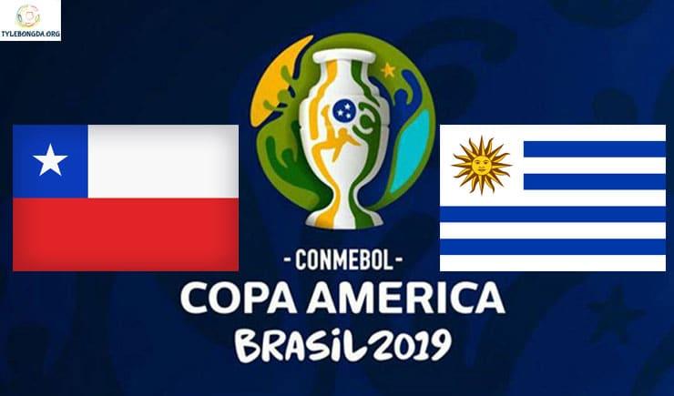 Soi kèo tỷ số bóng đá Copa America trận Chile vs Uruguay