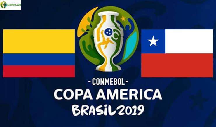 Soi kèo tỷ số bóng đá Copa America trận Colombia vs Chile