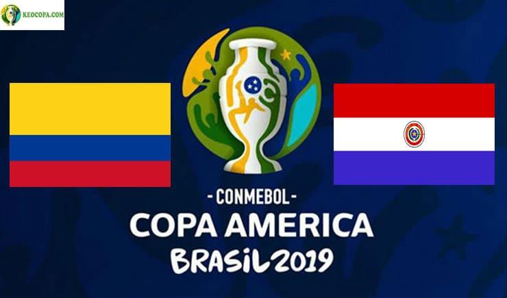 Soi kèo tỷ số bóng đá Copa America trận Colombia vs Paraguay