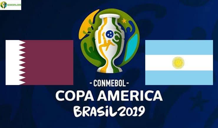 Soi kèo tỷ số bóng đá Copa America trận Qatar vs Argentina