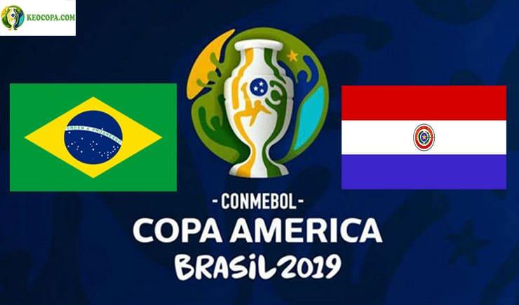 Soi kèo tỷ số nhà cái Copa America trận Brazil vs Paraguay