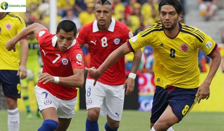 Soi kèo tỷ số nhà cái Copa America trận Colombia vs Chile