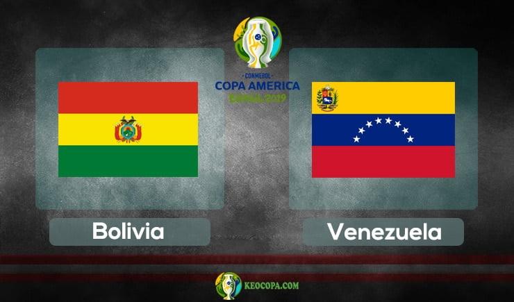 Link xem trực tiếp Bolivia vs Venezuela