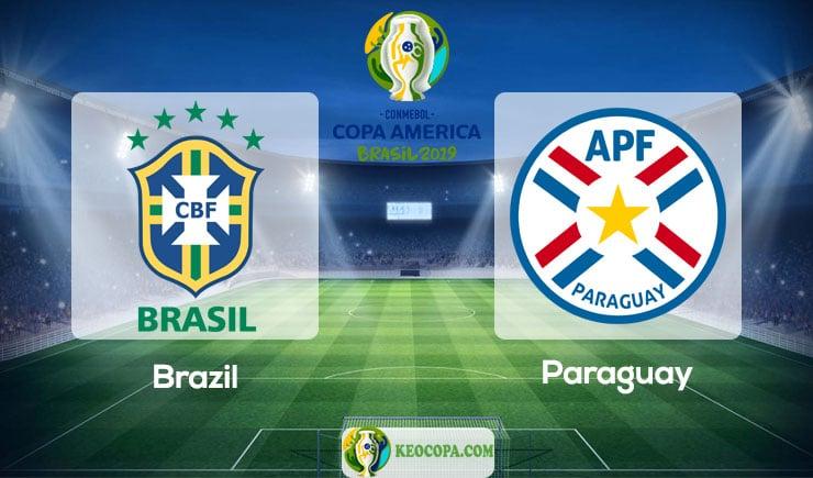 Link xem trực tiếp Brazil vs Paraguay