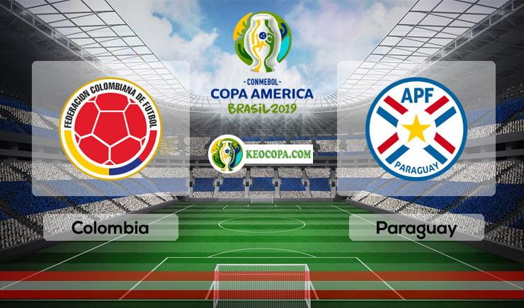 Link xem trực tiếp Colombia vs Paraguay