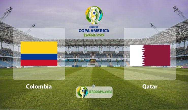Link xem trực tiếp Colombia vs Qatar