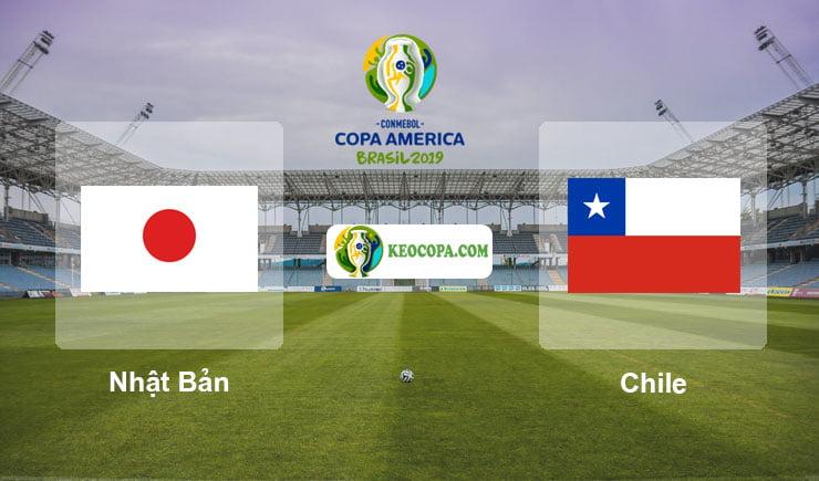 Link xem trực tiếp Nhật Bản vs Chile