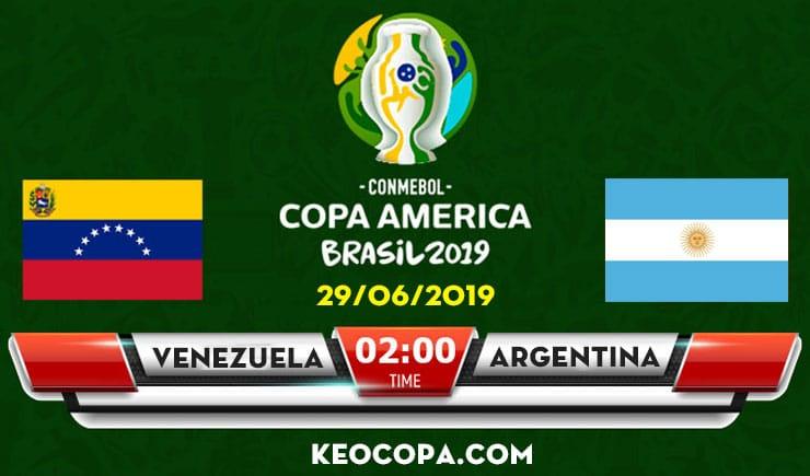 Link xem trực tiếp Venezuela vs Argentina