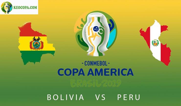 Link xem trực tiếp bóng đá trận Bolivia vs Peru