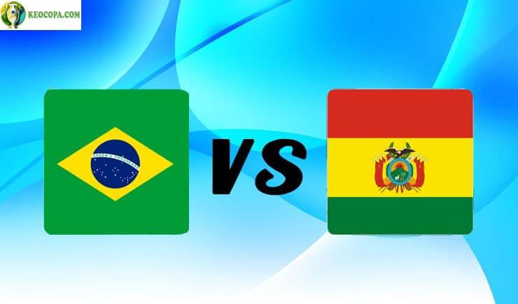 link xem trực tiếp bóng đá trận Brazil vs Bolivia