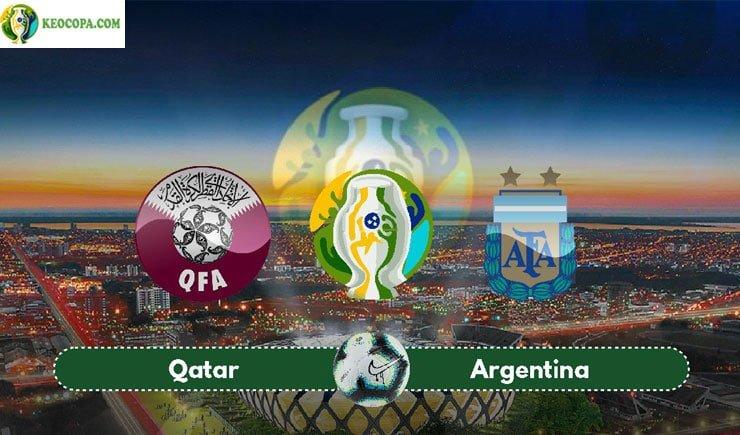 Link xem trực tiếp bóng đá trận Qatar vs Argentina
