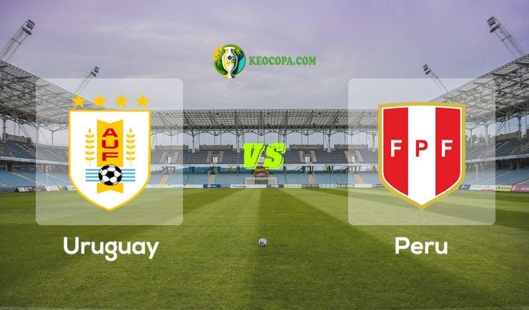 Link xem trực tiếp Uruguay vs Peru