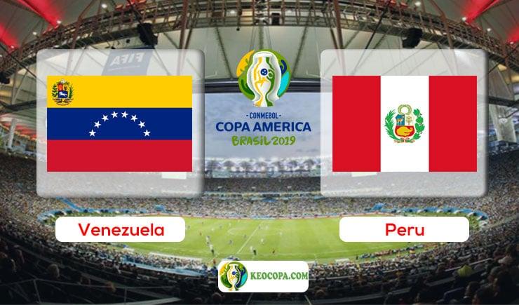 Link xem trực tiếp Venezuela vs Peru
