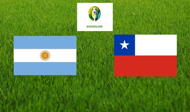 Soi kèo tỷ số bóng đá Copa America trận Argentina vs Chile