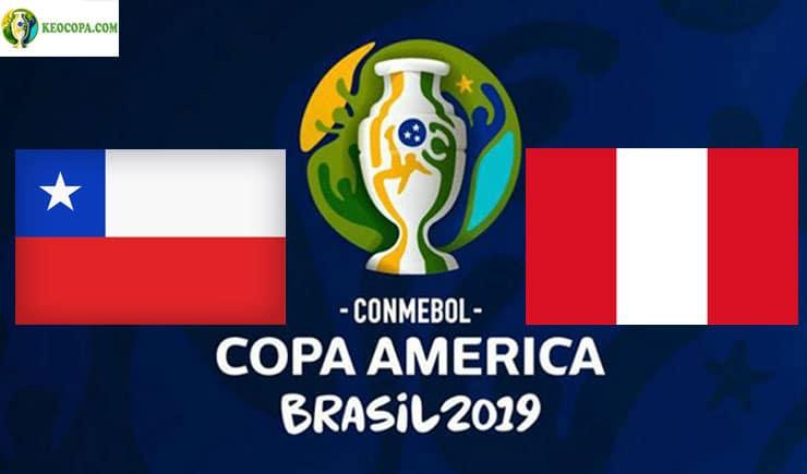 Soi kèo tỷ số bóng đá Copa America trận Chile vs Peru