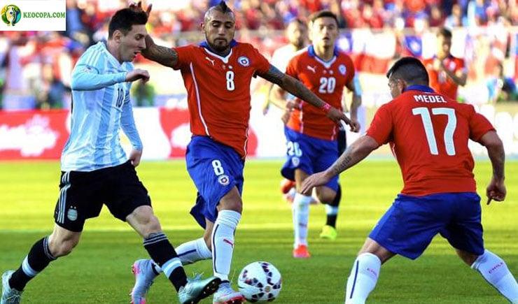 Soi kèo tỷ số nhà cái Copa America trận Argentina vs Chile