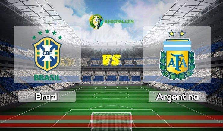 Link xem trực tiếp Brazil vs Argentina