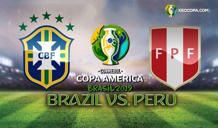 Link xem trực tiếp Brazil vs Peru