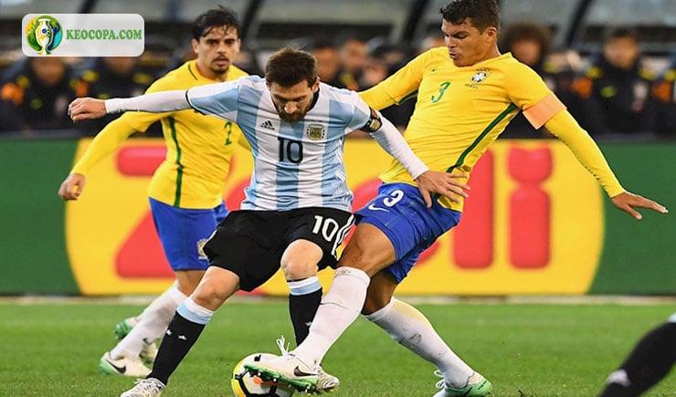 Trực tiếp bóng đá Brazil vs Argentina