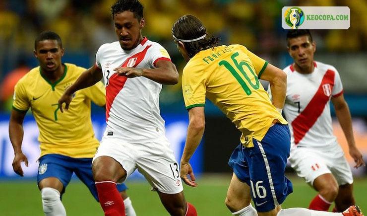 Trực tiếp bóng đá Brazil vs Peru