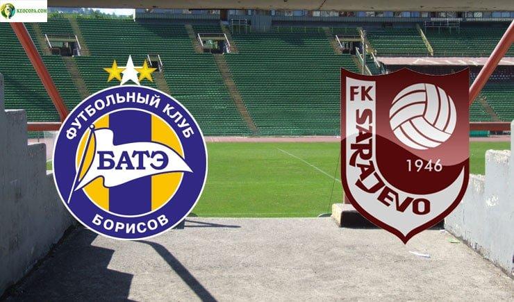 Soi kèo tỷ số nhà cái trận BATE Borisov vs Sarajevo