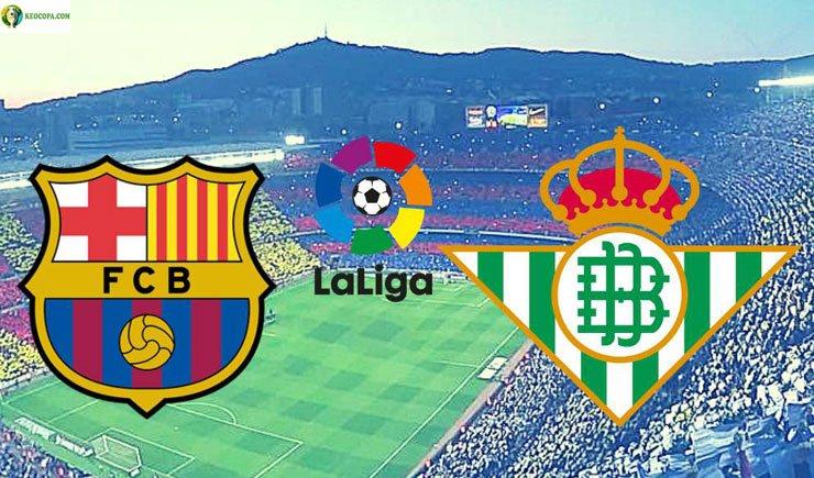 Soi kèo tỷ số nhà cái trận Barcelona vs Real Betis