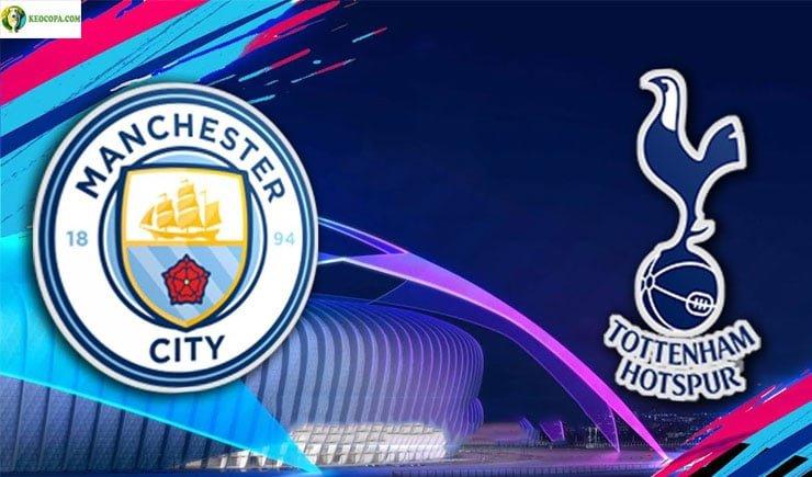 Soi kèo tỷ số nhà cái trận Manchester City vs Tottenham