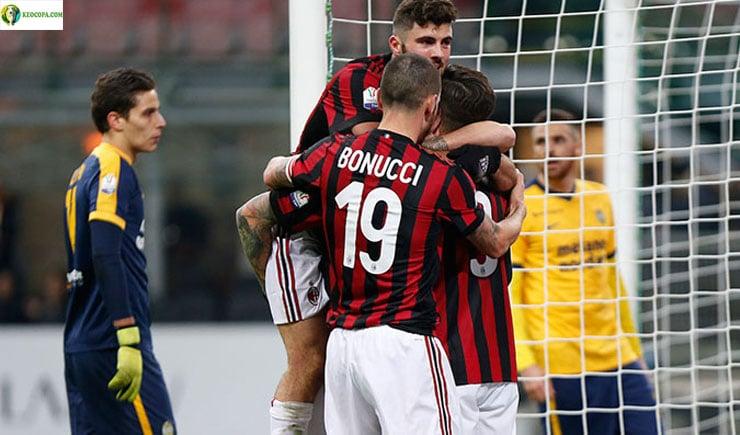 Soi kèo tỷ số bóng đá trận Verona vs AC Milan
