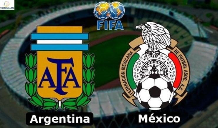 Soi kèo tỷ số nhà cái trận Argentina vs Mexico