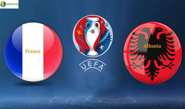 Soi kèo tỷ số nhà cái trận Pháp vs Albania