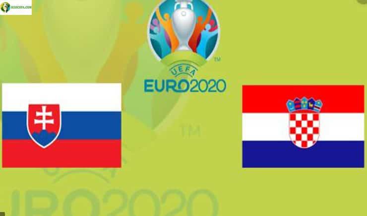 Soi kèo tỷ số nhà cái trận Slovakia vs Croatia