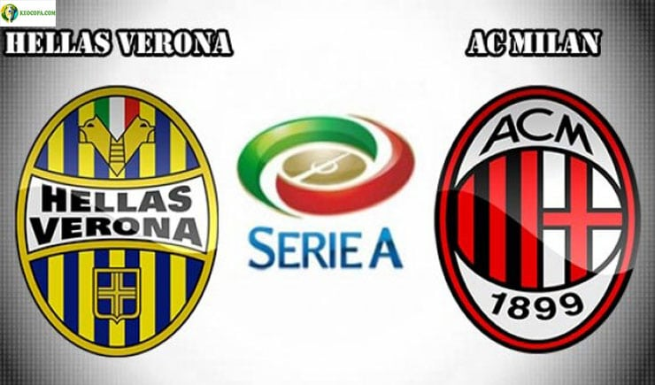 Soi kèo tỷ số nhà cái trận Verona vs AC Milan