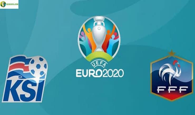 Soi kèo tỷ số nhà cái trận Iceland vs Pháp