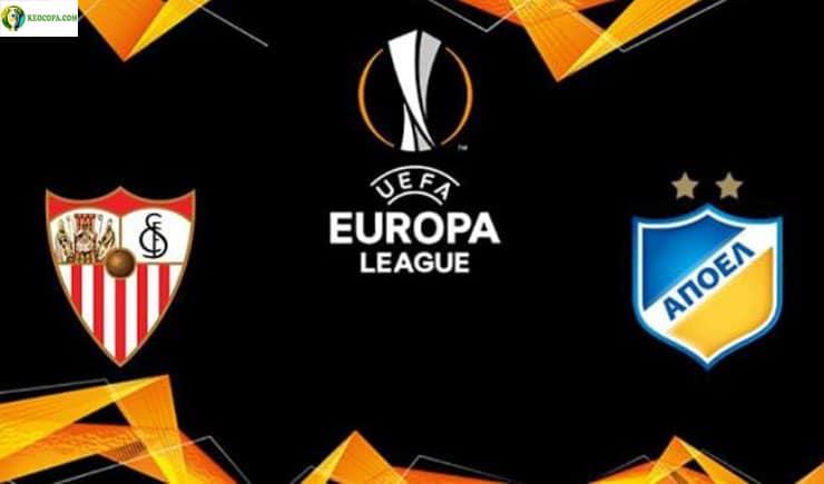 Soi kèo tỷ số nhà cái trận Sevilla vs APOEL Nicosia