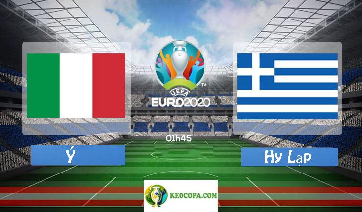 Soi kèo tỷ số nhà cái trận Ý vs Hy Lạp