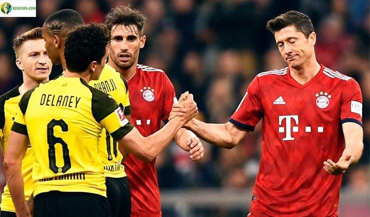 Soi kèo tỷ số bóng đá trận Bayern Munich vs Dortmund