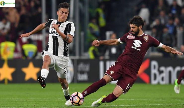 Soi kèo tỷ số bóng đá trận Torino vs Juventus