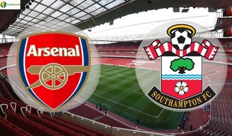 Soi kèo tỷ số nhà cái trận Arsenal vs Southampton