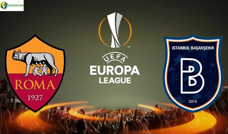 Soi kèo tỷ số nhà cái trận Basaksehir vs AS Roma