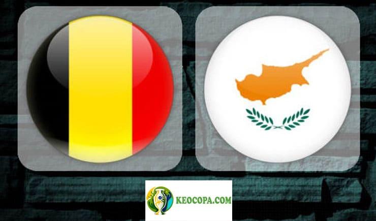Soi kèo tỷ số nhà cái trận Bỉ vs Síp