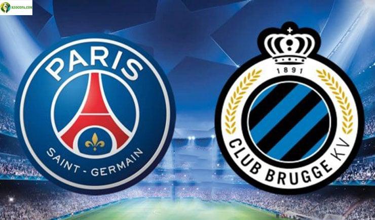 Soi kèo tỷ số nhà cái trận Paris Saint Germain vs Club Brugge