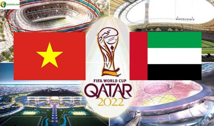 Soi kèo tỷ số nhà cái trận Việt Nam vs UAE